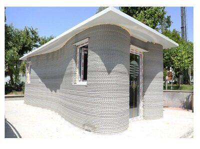 اولین ساختمان با فناوری چاپ سهبعدی در کشور