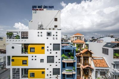 طراحی مدرن ساختمان HVB