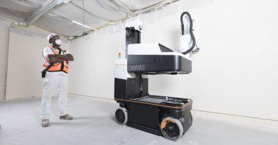 """ربات ساختمانساز شرکت """"کاناواس"""""""