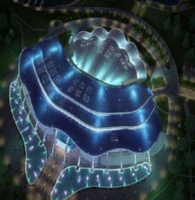 آکواریوم پرایمورسکی؛ آکواریومی الهام گرفته از صدف