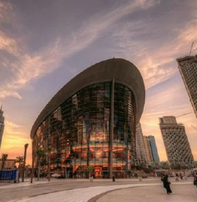 سالن اپرای دبی خانهای برای هنرمندان