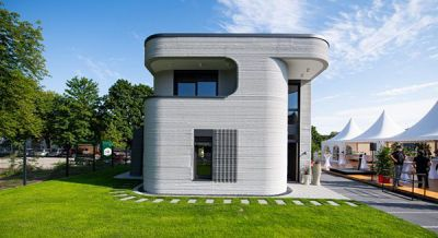 نخستین خانه چاپ 3D در آلمان