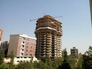 طراحی برج جنوبی پروژه برج مسکونی آرتیمان